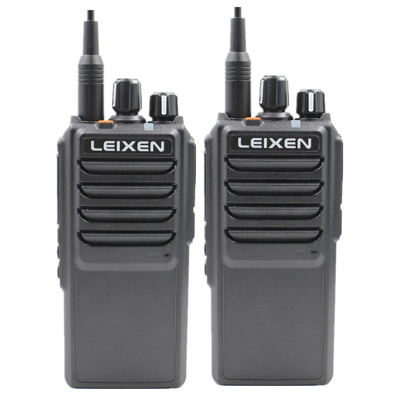 2pcs LEIXEN VV-25 Walkie Talkie Long Range 10 Km 25 Watts 12.6V 4000mAh Battery High Middle Low Power UHF Radio Amador Telsiz