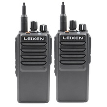 Buy 2pcs LEIXEN VV-25 walkie talkie long range 10 km 25 watts 12.6V 4000mAh battery High Middle Low Power UHF Radio Amador Telsiz directly from merchant!