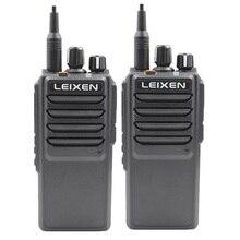 Ad alta Potenza LEIXEN VV 25 25 watt a lungo raggio walkie talkie con 12.6 V 4000 mAh batteria