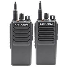 Alta Potência LEIXEN VV 25 25 watts de longo alcance walkie talkie com bateria 12.6 mAh 4000 V