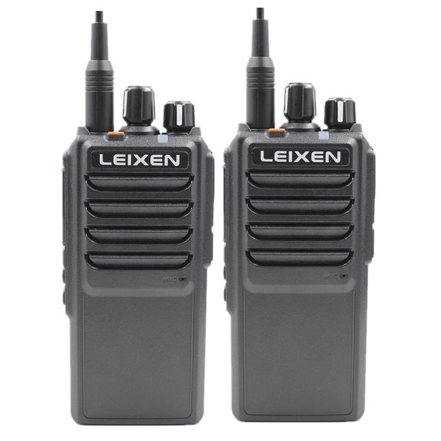 High Power LEIXEN VV 25 25 watt long range walkie talkie mit 12,6 V 4000 mAh batterie