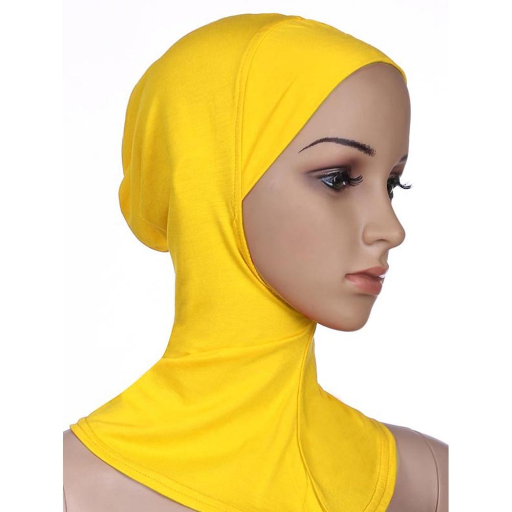 Pleine Couverture Intérieure De Coton Musulman Hijab Cap Islamique Turban  Tête Usure Chapeau Underscarf Hijab *