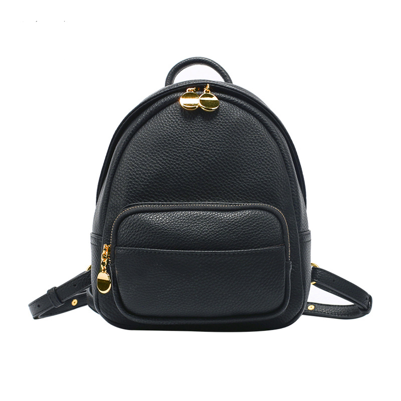 Punctual Fashion Vintage Women Bag Backpacks Brown Schoolbags Casual Travel Softback Leather Shoulder Bag School Supplies Backpacks Luggage & Bags