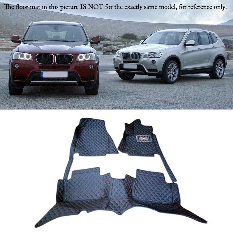 Tapis de sol de voiture tapis couverture de protection pour BMW X3 E83 2006-2010 accessoires de style de voiture