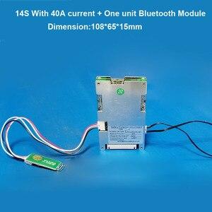 Image 4 - 14 วินาที 58.8 โวลต์ Li ion สมาร์ทบลูทูธ BMS APP ซอฟต์แวร์การจัดการสำหรับสกู๊ตเตอร์ไฟฟ้าจักรยานแบตเตอรี่ lipo กับ 20A to 60A