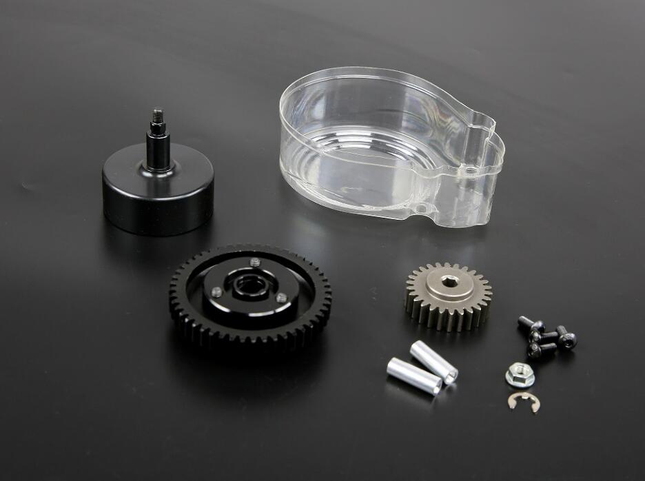 48T/26T metal super high speed gears set with clutch bell set For 1/5 hpi rovan baja 5b 5t 5SC цены