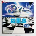 Palio oficial CK531A largos granos de tenis de mesa de goma ataque rápido con lazo para raqueta de tenis de mesa ping pong
