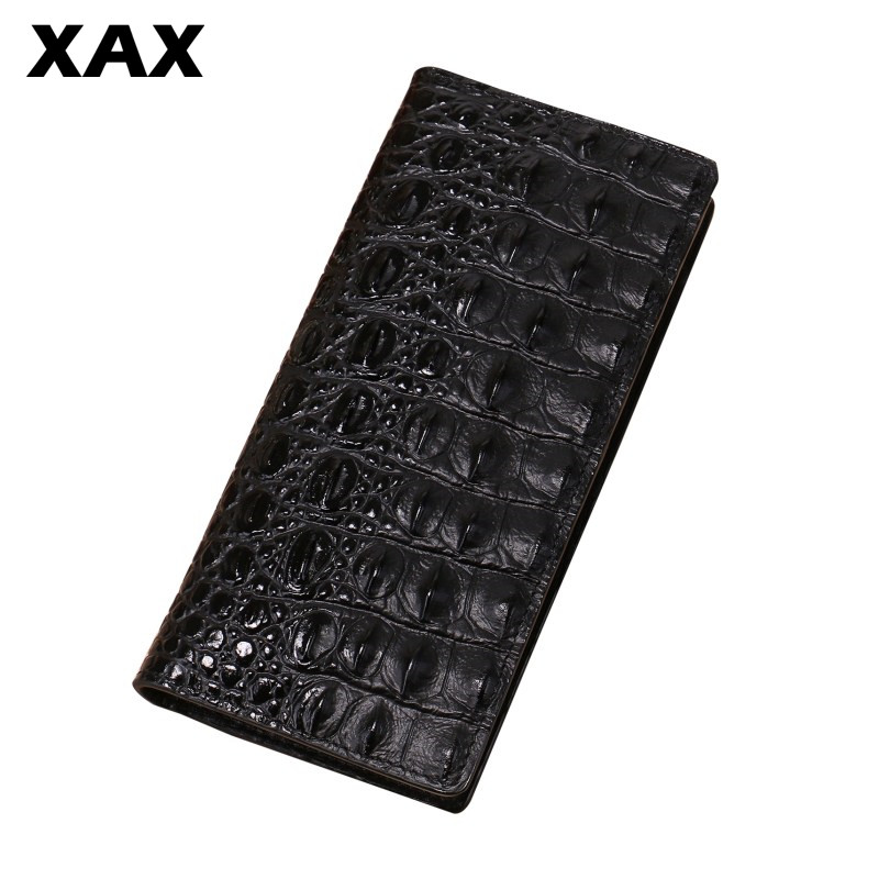 XAX Mens leather 3D alligator wallet mens handbag long mens wristband coin nightmare before christmas convenient for boy 006tXAX Mens leather 3D alligator wallet mens handbag long mens wristband coin nightmare before christmas convenient for boy 006t