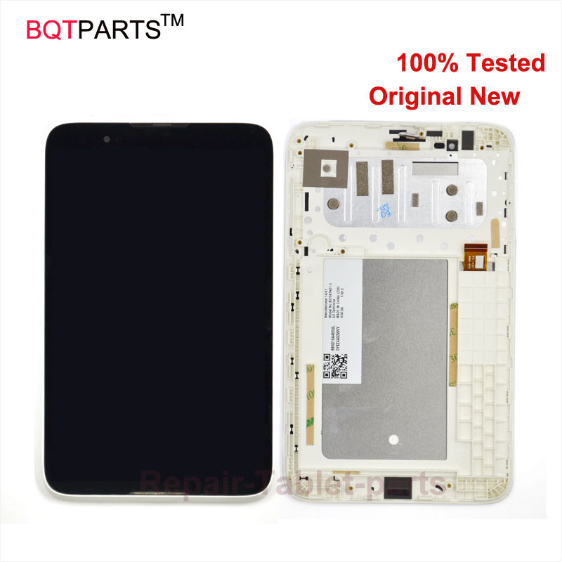 цены  BQT Original lcd screen For Lenovo A3300 LCD display + Touch Screen Digitizer glass Assembly with Frame Replacement Parts white