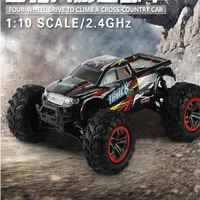 Hot Rc car 1:10 large scale high speed car four drive suv model motor car Racing Off Road Truck Four Wheel Drive Monster Car