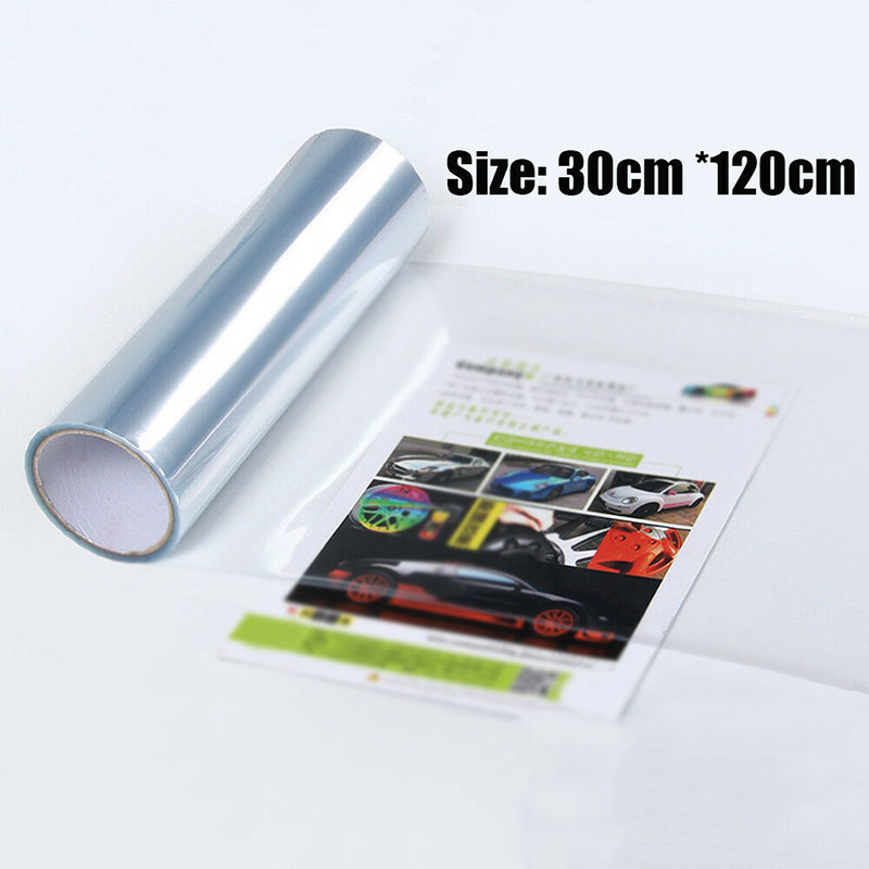 1pc Car Headlight Protector Film high quality 120 30cm auto front Bumper Hood Paint Protection Vinyl Wrap stickers accessories in Car Stickers from Automobiles Motorcycles