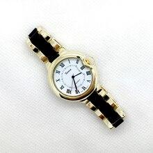 Hermoso globo de forma de reloj de pulsera mujer reloj de Ginebra reloj de la marca de alta calidad
