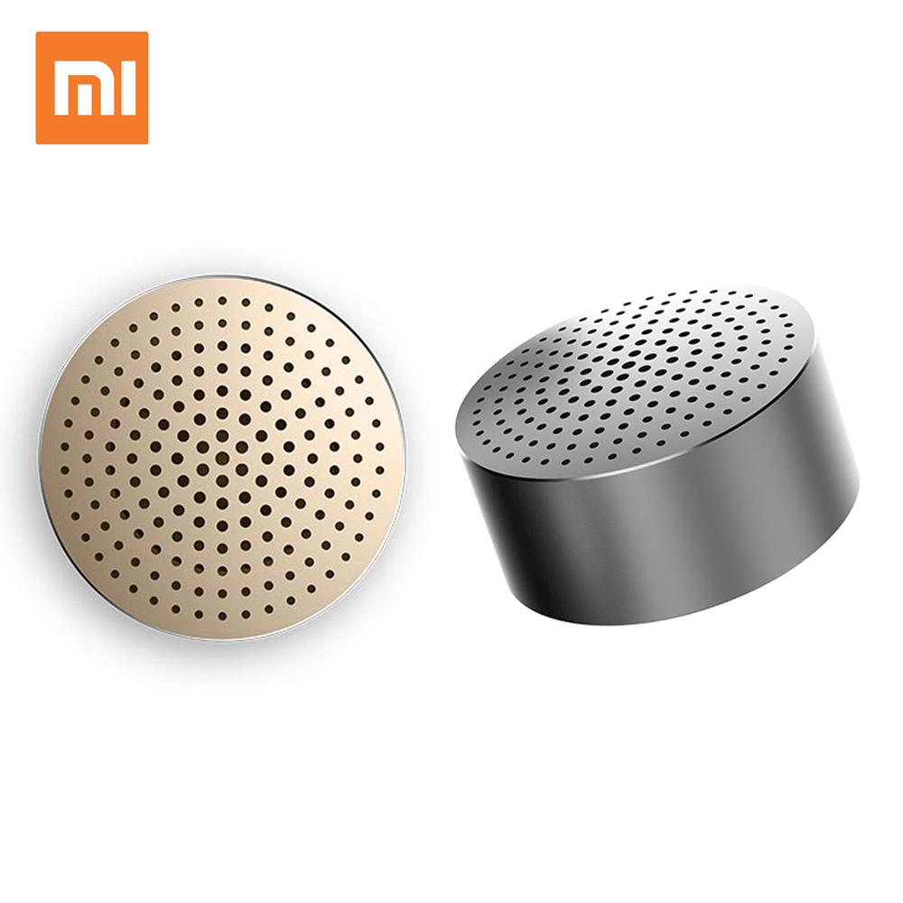 XIAOMI Mi Bluetooth Speaker USB Portable Mini Wireless Speakers Receiver Mp3 Player Music Speaker Column Bluetooth Dynamics tronsmart element t6 mini bluetooth speaker portable wireless speaker with 360 degree stereo sound for ios android xiaomi player