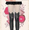 2 pieces Sexy Women Cute frog Mock Knee High Hosiery Pantyhose Tattoo Tights free size