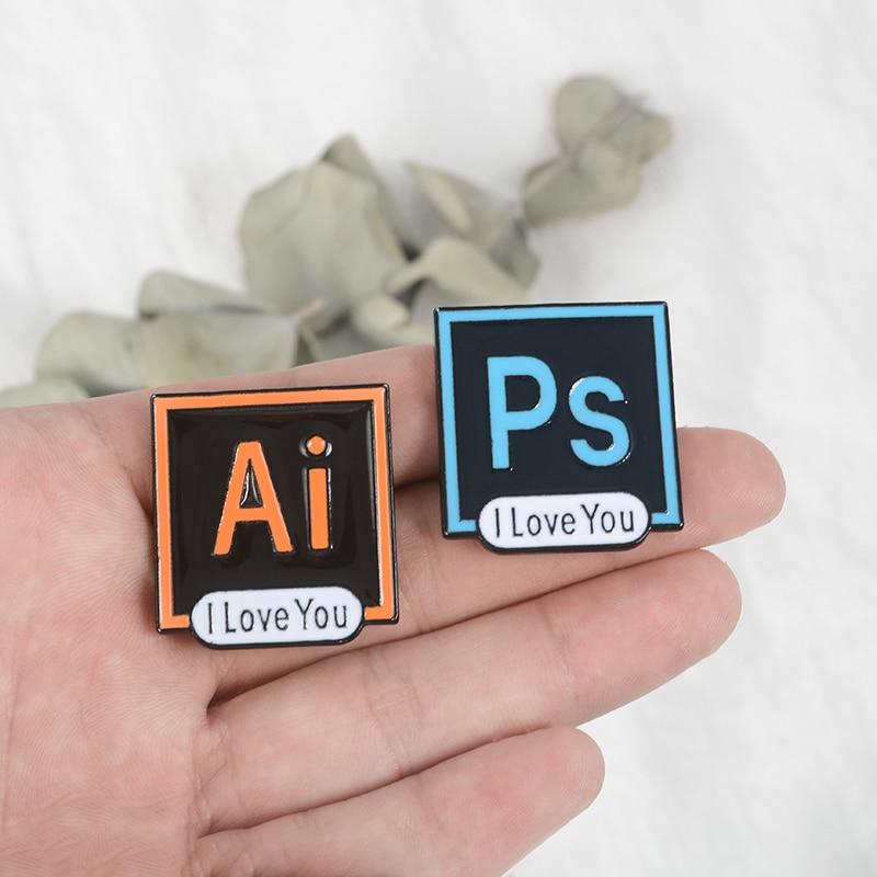 Enamel pin software