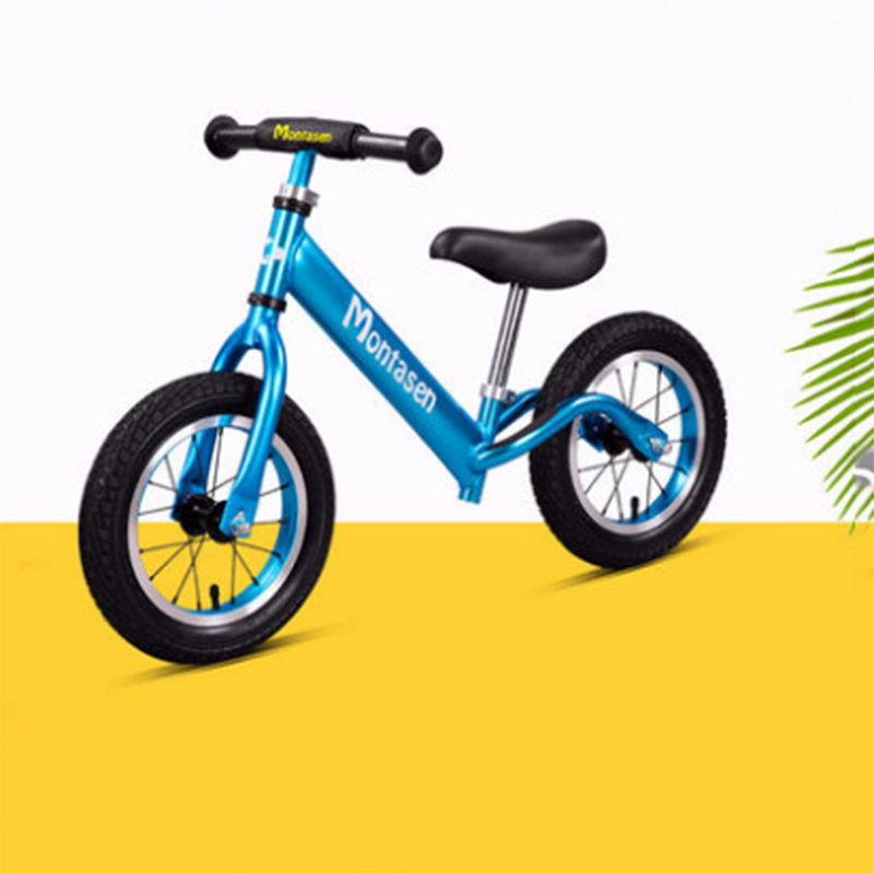 Children's Balance Bike  Without Pedal Two Rounds 1-3 Years Old Baby Scooter Slide Bicycle Yo Car