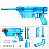 Işçi YY R W019 W024 R Tipi Mod Kitleri için Set Nerf N strike Elite Stryfe Blaster Kısa Mermi B/A pompa kiti Oyuncak Tabanca Aksesuarları