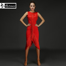 Nueva Marca 3 colores vestido de baile latino para las mujeres las niñas  poliéster Flamengo Salsa Samba Tango competencia de bai. a0c072fa7e116