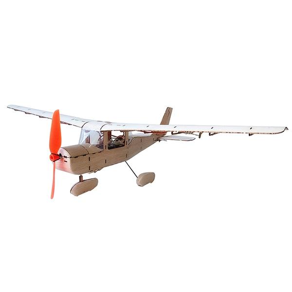 Мини Cessna мм 435 182 мм размах крыльев Balsa дерево Лазерная резка RC самолет комплект