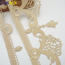 2 yards 182 cm Lace Ribbon Trims Embroidery Strip Flower Webbing for Sofa Cover Home Textiles Decor Curtain Edge DIY Sew Cusack