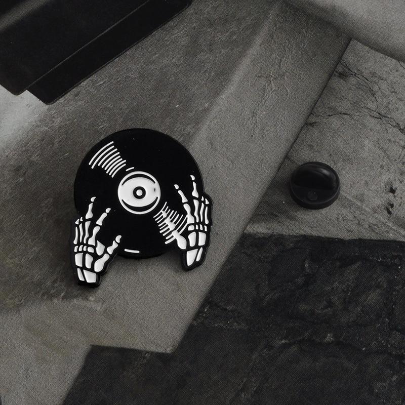 Enamel Pin Punk Pins Jackets