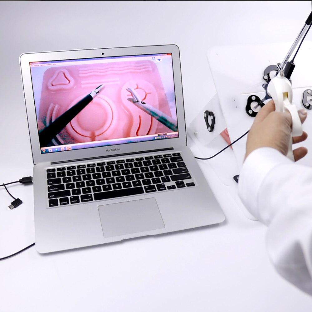 Image 3 - Laparoscopic Surgery Training Simulator Medical Surgical Teaching  Equipment Simulated Training Box   4pcs Surgical Instrument YTool  Parts