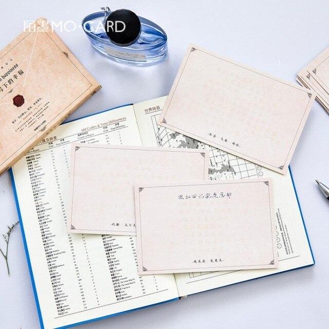30 Teilepaket Persönlich Schreiben Das Glück Grußkarte Postkarte