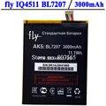 Alta Qualidade 3000 mAh Bateria Para FLY IQ4511 BL7207 BL 7207 Acumulador