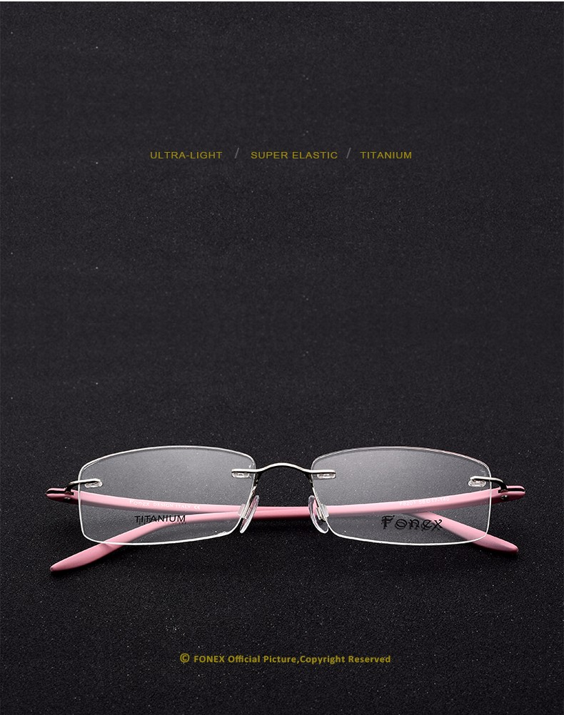New-Fashion-Titanium-Myopia-Rimless-Glasses-Memory-Eyeglasses-Optical-Frame-TR90-Eyewear-Women-Brand-Designer-8201-FONEX_04