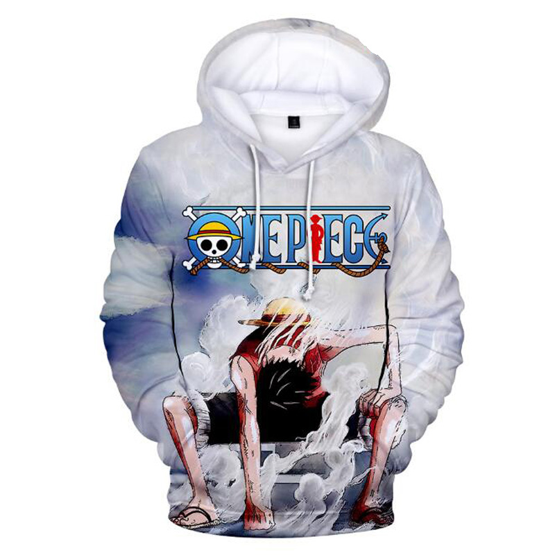 Anime One Piece Trafalgar Law 3D Hoodies Men Harajuku Long Sleeve Pullover Hooded Sweatshirt Hip Hop Tracksuit Brand-Clothing
