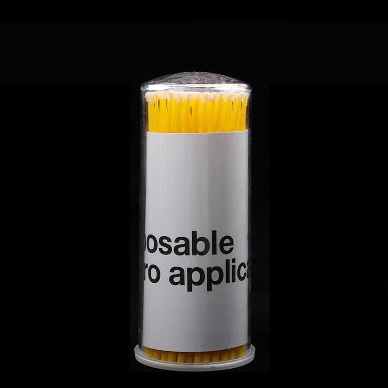 300 Pcs Descartáveis Micro Aplicadores Escovas Em Tubo de Rímel Cílios Individuais Extensão Dos Cílios Maquiagem Ferramentas de Pincel