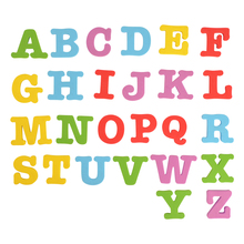 EVA Foam Magnetic Upper Case English Letters, Height 5CM /1.96 Inch alphabet set magnetic upper case letters 4 by rubbabu