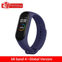 "Globale Version Xiao mi mi Band 4 Smart mi band 4 Wasserdicht Herz Rate Fitness 135mAh Bluetooth 5,0 50M 0,95 ""AMOLED Bildschirm"