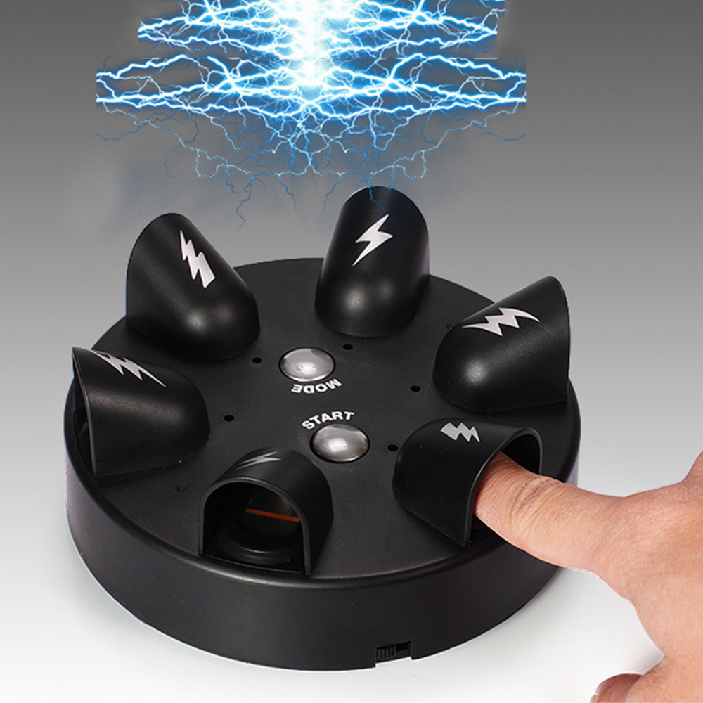 Funny Electric Finger Machine Shock Tricky Lie Detector Shocking Liar Truth Or Dare Gags & Practical Jokes Party Prank Games