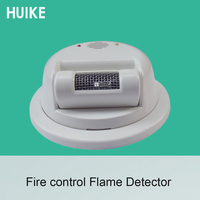 1 PCS ultraviolet ray Detector Ceiling Fire Control UV Sensor Safety Protection Wire Flame Sensor Factory Warehouse NC NO Signal