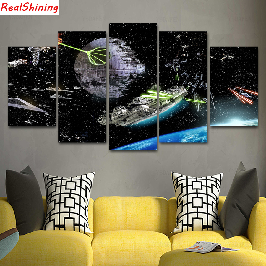 5pcs DIY Diamond Painting Star Wars spaceship Full Square Diamond Embroidery Mosaic Picture Of Rhinestone H12885pcs DIY Diamond Painting Star Wars spaceship Full Square Diamond Embroidery Mosaic Picture Of Rhinestone H1288