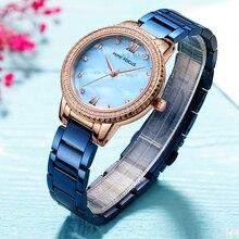 MINIFOCUS Ladies Fashion Watch Women Luxury Rhinestone Quartz Womens Wrist watches Female Dress Clock relogio feminino