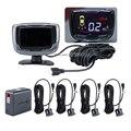Wireless LCD Parking Sensor+Car Parking assistance+Car LCD Parking Reverse Radar with 4 Sensors New Arrive Seicane