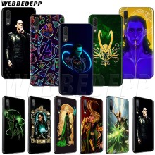 WEBBEDEPP Marvel Hero Loki TPU custodia morbida per Honor 6A 7A 7C 7X8 8X 8C 9 10 Lite nota Pro(China)