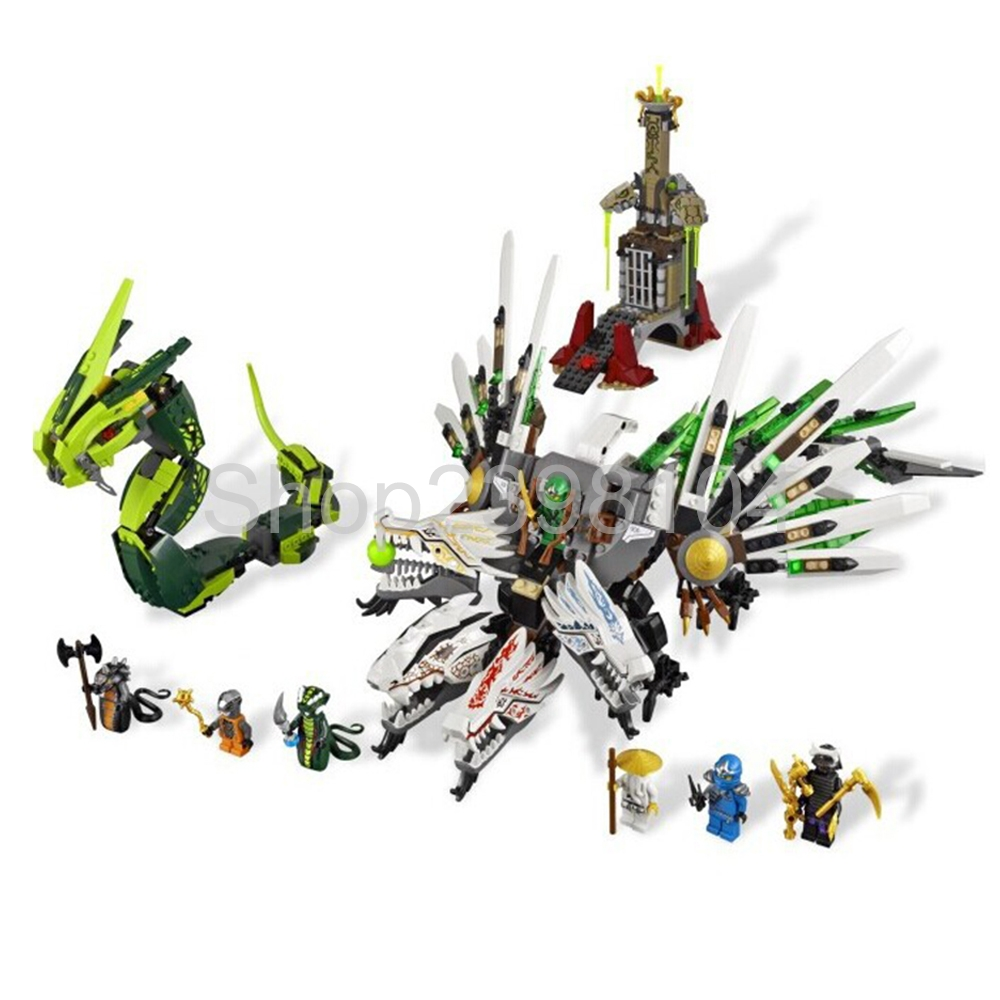 Bela 9789 Ninja Armageddon Epic Dragon Battle 911pcs Building Block Sets DIY Toys legoing for Children bela 911pcs ninjagoes epic dragon battle building block set jay zx chokun minifigures kids toy compatible with legoes 9450