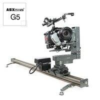 ASXMOV G5 алюминиевый подключаемость и видеосъемки easyrig стабилизатор DSLR тележка видеооператора железнодорожных путей система механизированна