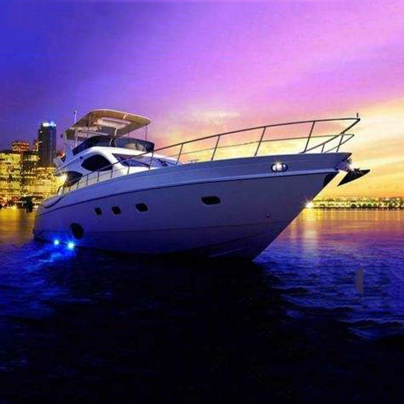 Led Underwater Lights Led Lamps Free Shipping 6 Led Underwater Fishing Light 12v Boat Night Light Water Landscape Lighting For Marine Boat High Quality Goods