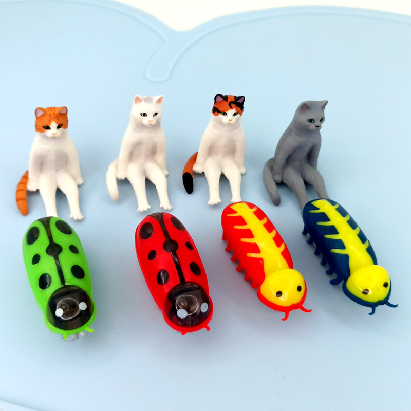[MPK]  Fast Moving Micro Robotic Bug Toy For Entertaining Your Pets, Cats-Go-Crazy Toys, Cat Toy