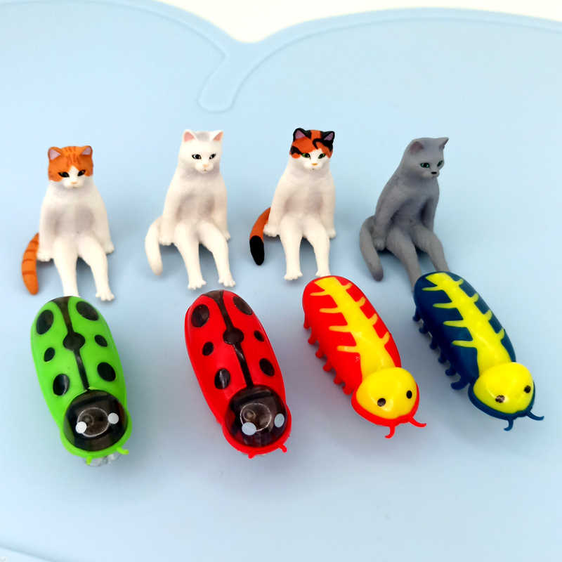 [MPK] In Rapido Movimento Micro Robotic Bug Giocattolo Per Intrattenere I Vostri Animali Domestici, gatti-Go-Pazzo Giocattoli, Giocattolo Gatto