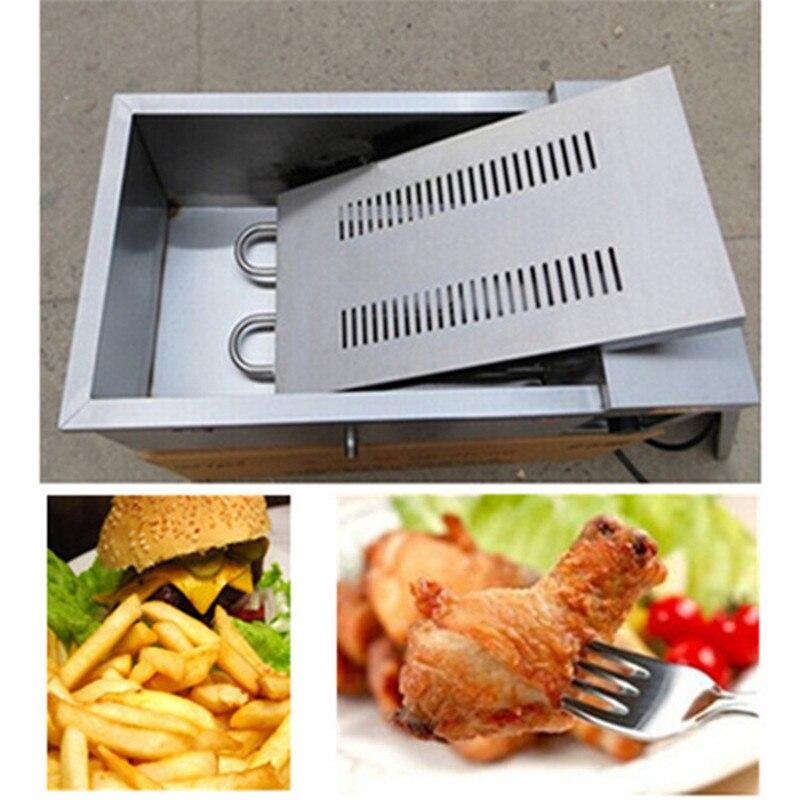 Sıcak satış elektrikli fritöz ticari elektrikli fritöz patates kızartması Kızarmış tavuk Derin kızartma fırın