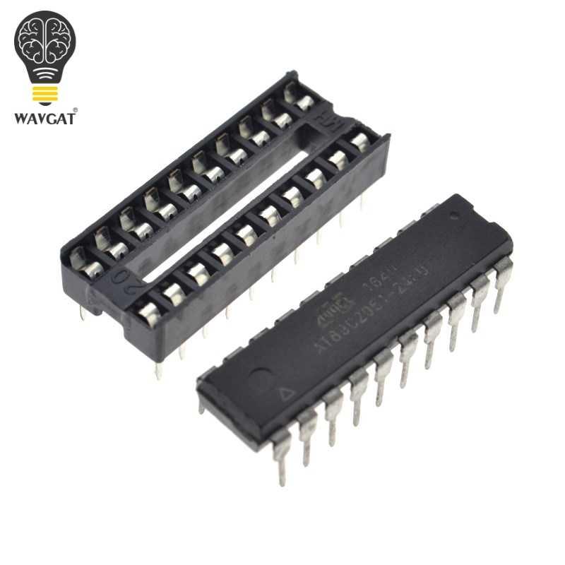 WAVGAT AT89C2051 Kỹ Thuật Số 4 Bits Điện Tử Đồng Hồ Điện Tử Sản Xuất Bộ Kit TỰ LÀM