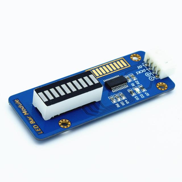 Adeept Nuevo 10 Segmento Gráfico de Barras Led Módulo para Arduino PIC AVR ARM DSP Raspberry Pi Freeshipping auriculares diy diykit