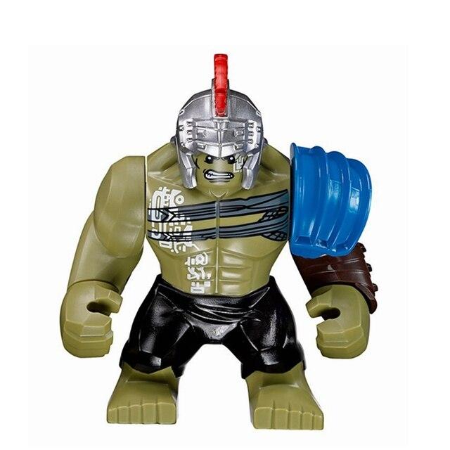 Vingadores Hulk Marvel Super Heroes Figuras de Ação Modelo Arena Duelo Infinito Guerra Blocos Brinquedos XH654