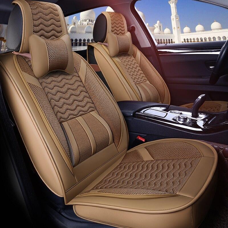 Сиденья чехлы сидений для Lifan 320 520 620 720 улыбающимся Солано X50 x60, JAC J3 J6 S2 S3 S5 2009 2008 2007 2006