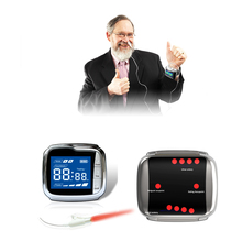 650nm Low Level Laser Therapy Wrist Wearing Laser Therapy Device for High Blood Pressure Improved low level laser therapy treatment is the home remedies for high blood pressure